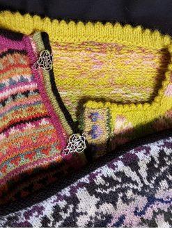 comment tricoter encolures et bordures style nordique Atelier tricot bordures et encolure KEITO STUDIO
