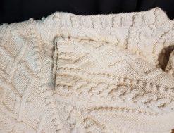 Colmar cours tricot points irlandais torsades. et nappes Atelier tricot points irlandais