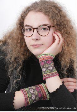 élégance motifs et couleurs douces tricot en rond motifs et techniques nordiques par KEITO STUDIO